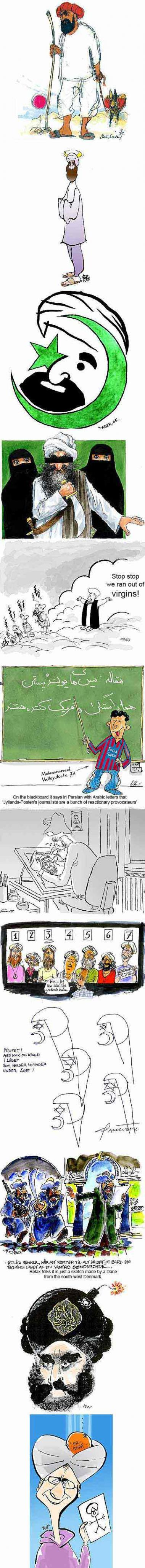 Controversial Muslim Cartoons
