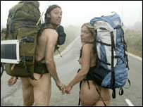 Naked ramblers, I salute you